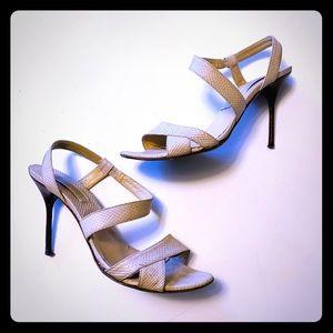 Michael Kors Nude Stiletto Sandals 7.5